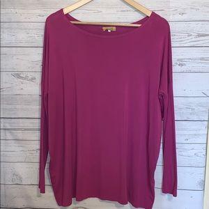 Piko 1988 Purple-Pink Long Sleeve Shirt S